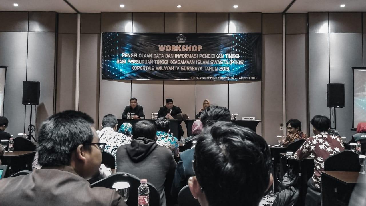 Workshop Pengelolaan Data dan Informasi PTKIS Wilayah IV Surabaya