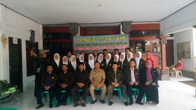 STIT Jembrana Lepas Mahasiswa KKN PAR di Desa Tegalbadeng Timur